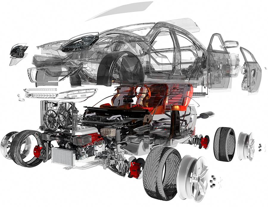dts original car parts